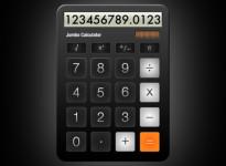 Jumbo Calculator screenshot 1/2
