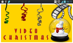 Christmas Video Ecards screenshot 1/4