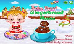 Baby Hazel Gingerbread House1 screenshot 1/5