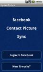 Facebook Contact Pic Sync screenshot 1/5