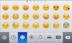 Emoji keyboard for Android screenshot 1/3