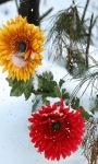 Snowy Flowers Live Wallpaper screenshot 1/3
