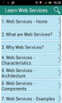 Learn Web Services screenshot 1/3