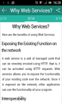 Learn Web Services screenshot 2/3