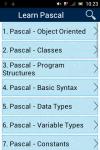 Learn Pascal screenshot 1/2