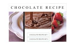 Chocolate recipes food screenshot 1/3