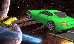 Galaxy stunt racing Game 3D screenshot 3/5