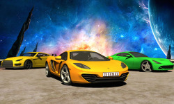 Galaxy stunt racing Game 3D screenshot 4/5