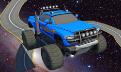 Galaxy stunt racing Game 3D screenshot 5/5