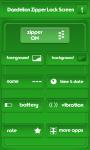 Dandelion Zipper Lock Screen Free screenshot 2/6