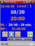 Poker tourney manager screenshot 1/1