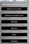 Calculadora de Dias de Dietas screenshot 1/1