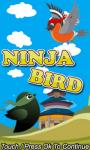 Ninja Bird flappy screenshot 1/1