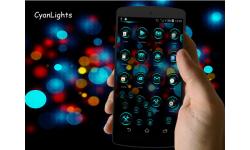 CyanLights Next Launcher 3D Theme screenshot 4/4