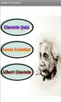 Albert Einstein Quiz screenshot 2/4