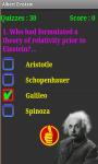 Albert Einstein Quiz screenshot 3/4