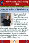 Precaution while using LPG screenshot 4/4