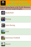 Highest Paying Sports in the World screenshot 2/3