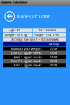 Calorie Calculator App screenshot 3/3
