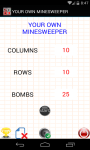 YOUR OWN MINESWEEPER screenshot 1/4