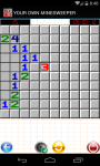 YOUR OWN MINESWEEPER screenshot 2/4