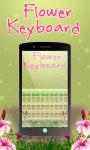 Flowers keyboard Theme Free screenshot 3/6