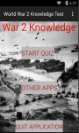 World War 2 Knowledge test screenshot 1/6