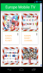 Europe Mobile TV screenshot 1/3