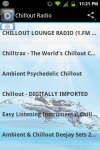 Chillout Radio Chill Out Lounge screenshot 1/3