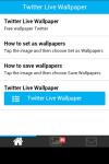 Twitter Live Wallpaper Free screenshot 2/5
