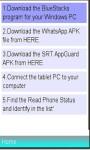 WhatsApp Messenger On Your Tablets screenshot 1/1