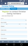 Christian Dating-App screenshot 2/4