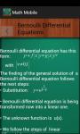 MatheMobile screenshot 1/3