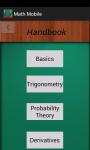 MatheMobile screenshot 2/3