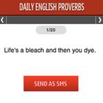 Daily English Proverbs S40 screenshot 1/1