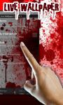 Blood Drop Drip Live Wallpaper free screenshot 1/1