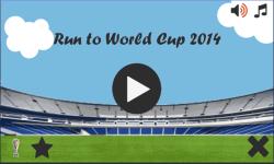 Run to World Cup 2014 screenshot 1/3