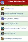 Weird Restaurants screenshot 2/3