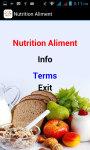 Nutrition Aliment screenshot 2/3