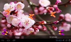 3D Sakura Wallpaper screenshot 1/5