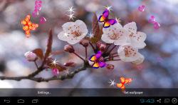 3D Sakura Wallpaper screenshot 2/5