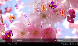 3D Sakura Wallpaper screenshot 3/5