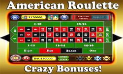 Roulette Extreme - American Roulette Tournaments screenshot 1/5