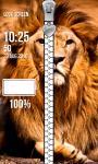 Lion Zipper Lock Screen Best screenshot 4/6