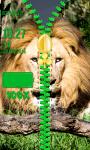 Lion Zipper Lock Screen Best screenshot 5/6