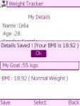 Weight Care Free screenshot 3/5