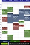 Business Calendar Free screenshot 1/1