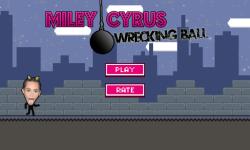 Miley Cyrus Wrecking Ball Game screenshot 1/4