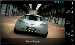 Awesome HD Car Live Wallpapers screenshot 1/4