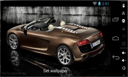 Awesome HD Car Live Wallpapers screenshot 2/4